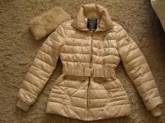 aea59fcb0c Mayo Chix Babe kabát, pezsgő színű M/L, Göd - gardrobcsere.hu