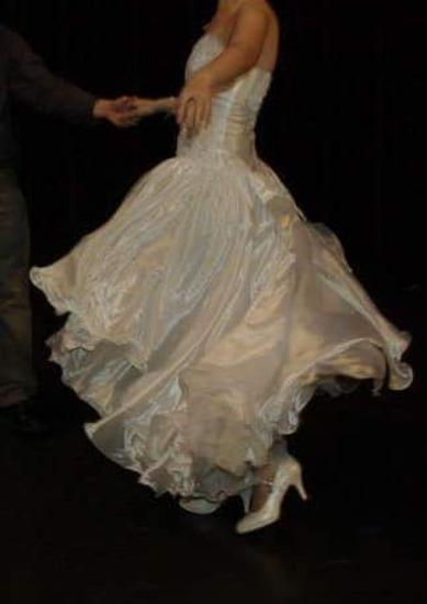 aec16b1f97 egyedi gyönyörű szecessziós esküvői ruha akció, Veszprém ...