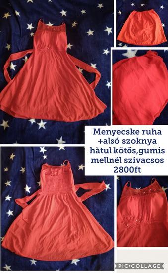 6ee5d407c4 Piros menyecske ruha+alsó szoknya M-es, Székesfehérvár - gardrobcsere.hu