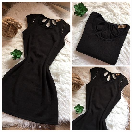 f109326e69 Fekete testhezálló ruha ÚJ, Tatabánya - gardrobcsere.hu