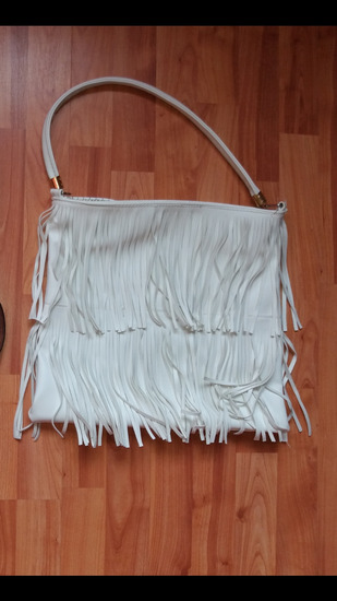Fehér rojtos táska  20e93dd6bd