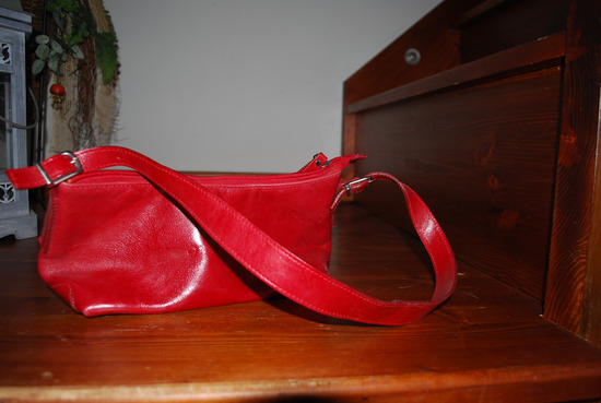 657b9bbe0aeb Monarchy táska bőr piros, Zalaegerszeg - gardrobcsere.hu