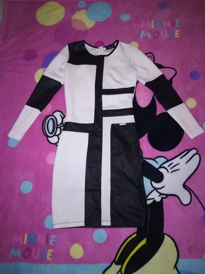 a3aeb30c2c Amnesia fekete-fehér alkalmi ruha S, Budapest - gardrobcsere.hu