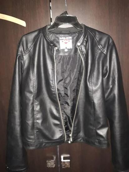 40-42-es   L-es női Lee Cooper bőrdzseki kabát a2407ec245