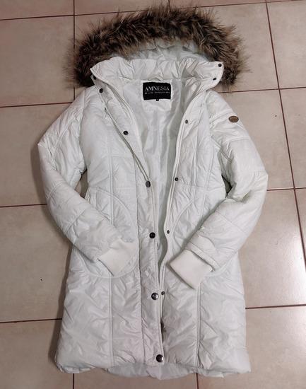 Amnesia Éva Prokai fehér kabát (M-es méret) d50795e9fd