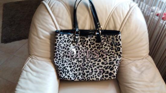 GUESS strandtáska bevásárló táska 396efef63a