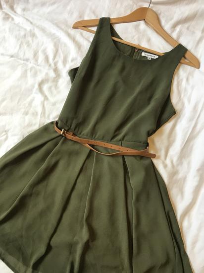 65a9d326fa Alkalmi olivazöld ruha, Szombathely - gardrobcsere.hu