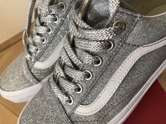Chunky Glitter Authentic | Glitter shoes, Cool vans shoes