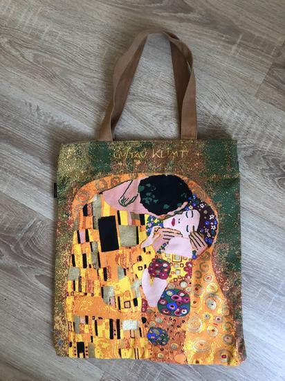Gustav Klimt táska, Budapest gardrobcsere.hu