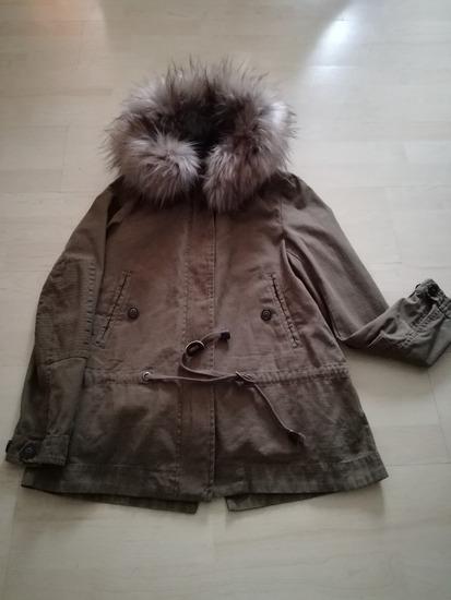 Zara kivehető béléses parka kabát 86deeb371f