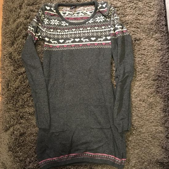 Norvég mintás kötött ruha  707e1a64cc