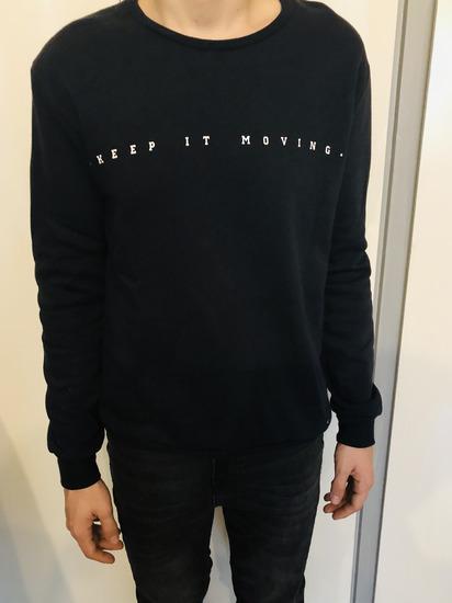 Zara feliratos pulóver 650e98d5b5