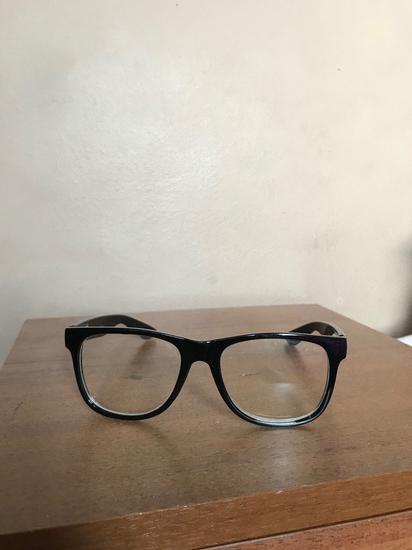 Divatszemüveg fekete kerettel dioptria nélkül 31b2c36b6d
