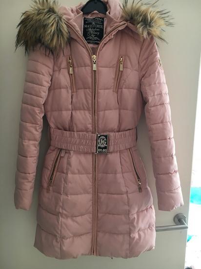 60910f100e Mayo Chix púder rózsaszín kabát S 36, Pécs - gardrobcsere.hu