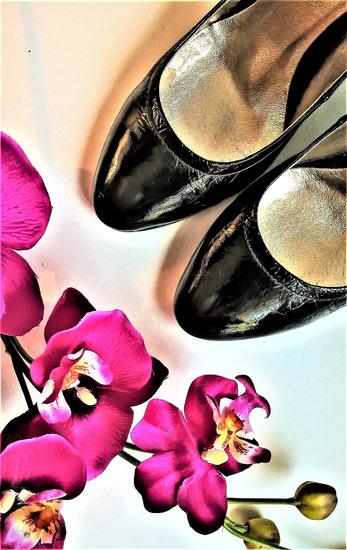Salamander - luxus lakkbőr magassarkú cipő 38 88057714a7