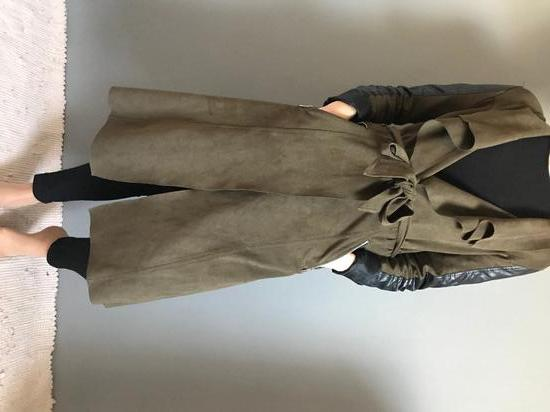 Hosszú őszi tavaszi kabát c5552d1d98