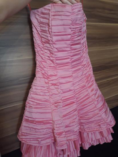 e9f4db6fec LEÁRAZVA! Rózsaszín alkalmi/koszorúslány ruha, Dunaharaszti ...