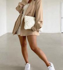 ZARA fehér clutch táska