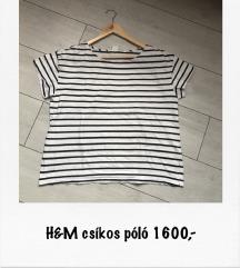 H&M csíkos póló