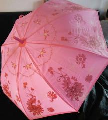 rózsaszín esernyő