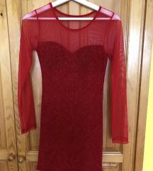 Piros alkalmi ruha
