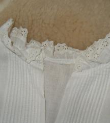 hófehér csipkés boleró blézer nyári 38 40 M L