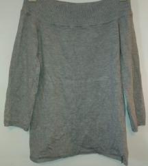mohito váll nélküli pulcsi