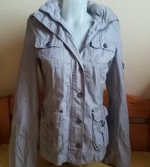 Orsay világosszürke átmeneti kabát, S/M-es