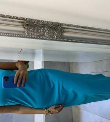 Kék maxi S-és ruha