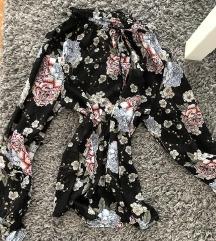 Divatos virágos garbó ing blúz Őszi