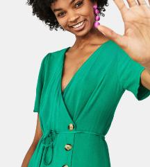 Bershka csodás zöld ruha M