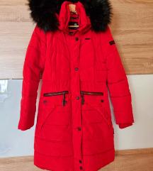Piros Navahoo téli kabát M