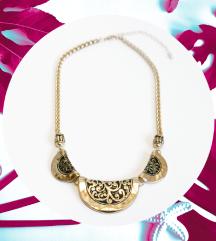 Arany antik jellegű nyaklánc