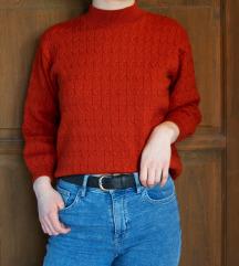 narancssárga vékony pulcsi S/M