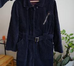 Vintage kord kabát