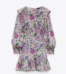 Zara virágos ruha