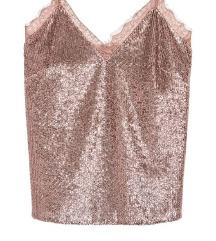 Rose gold trikó