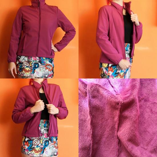 Rózsaszín, pink kabát