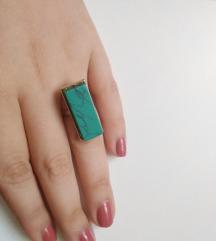 Állítható zöld gyűrű