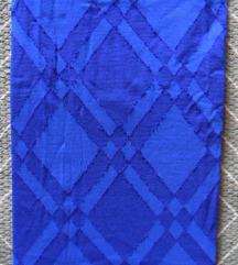 1-2, S - Újszerű kék mintás harisnyanadrág