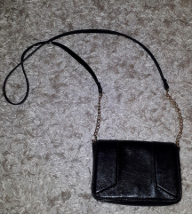 használatlan kicsi fekete táska