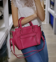 🎀 Új állapotú, rózsaszín Deichmann táska