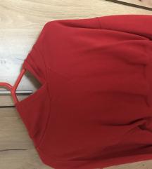 H&M piros pulóver