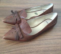 Bronx hegyesorrú bőrcipő