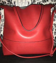 Nagy piros táska