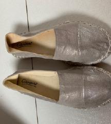 ezüst cipő 38,5es méretben