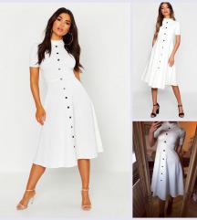 Boohoo fehér ruha NINCSCSERE
