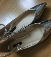 Deichmann ezüstcipő