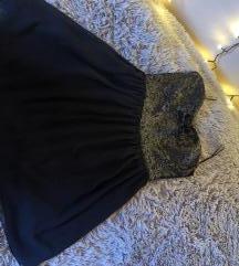AMISU fekete alkalmi ruha