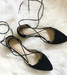 Asos Truffle Collection fekete lace up cipő 39